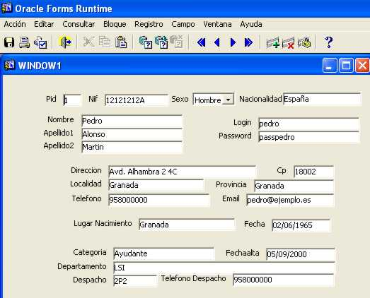 Oracle Forms Tutorial - 0425